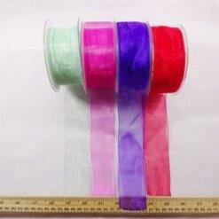 38mm organza ribbon
