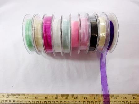 15mm organza ribbon