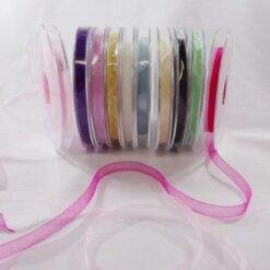 Organza Ribbon 7mm