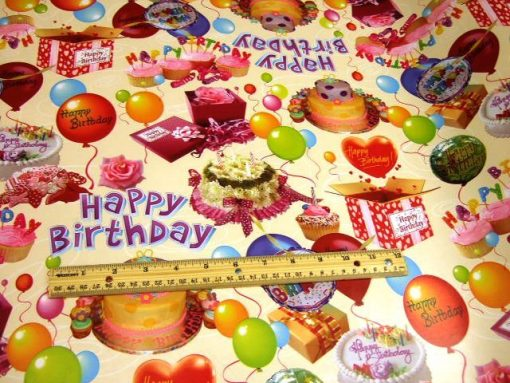 Happy Birthday PVC Tabling