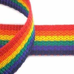 Rainbow Webbing Tape