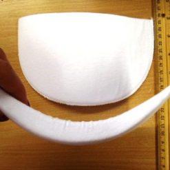 Covered Foam Shoulder Pads Large
