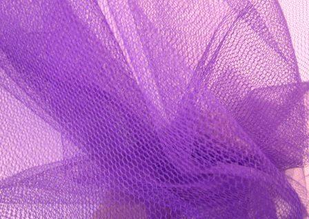 purple dress net