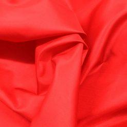 Red Habutae Silk