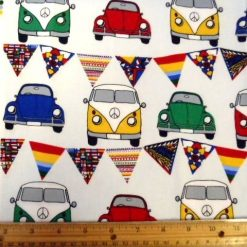 Car Patterned Fabric