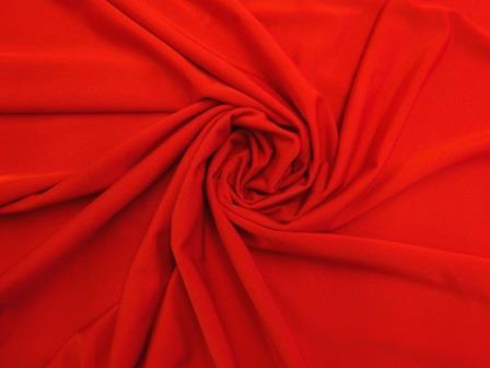 Lycra Polyester Spandex High Shine 190g red