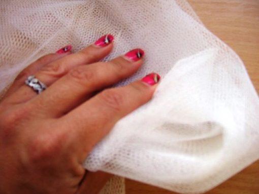 Dress Net Chinese Quality White