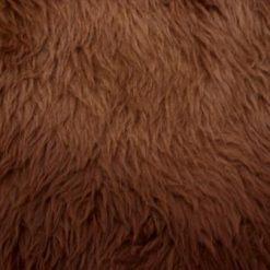 malt faux fur