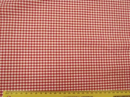 3mm red gingham