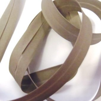 18 mm-Noir Plain Bias Binding Cassette