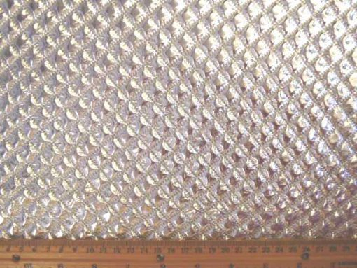 Planet Janet Metallic Quilting Silver Texture