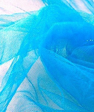 peacock tulle