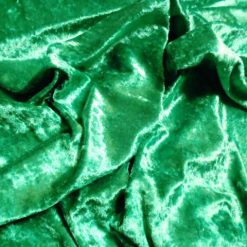 Emerald Crushed Velvet