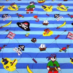 Pirate Patterned Fabric