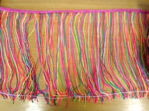 rainbow fringe
