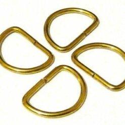D-Rings Brass