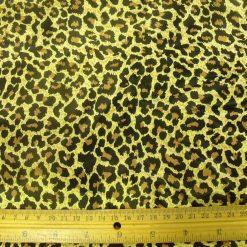 Satin Print Animal Fabric