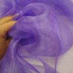 Voile Sugar Puff 100% Nylon Purple
