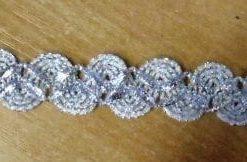 Metallic Frosty Braid Trim