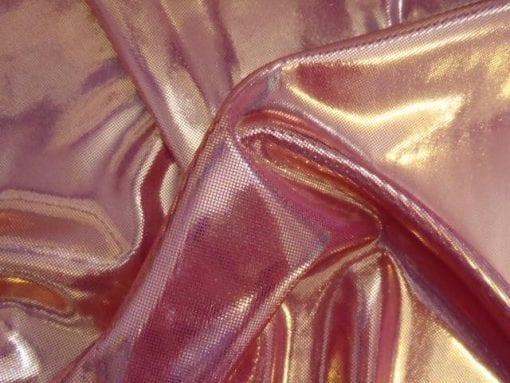 pink/gold foil