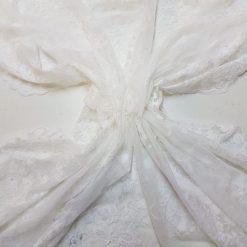 White Guipure Lace Texture