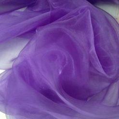 purple organdie