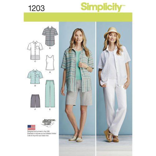 Simplicity Pattern 1203