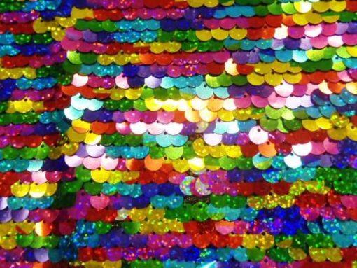 Sequin Blitz Kaleidoscope Fabric