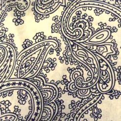 Paisley Patterned Fabric