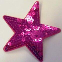sequin star motif