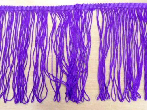 """purple 6"""" fringe"""