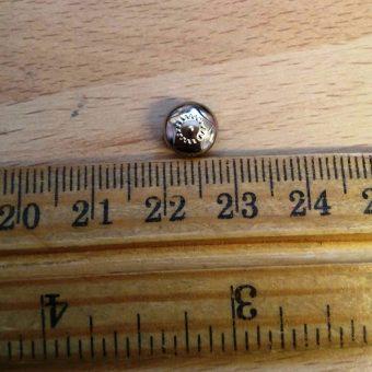 Silver 8mm Round
