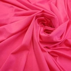 Lycra Polyester Spandex High Shine 190g flo pink