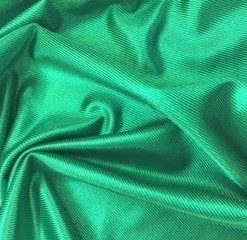 emerald stage satin