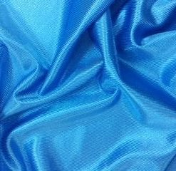 turquoise stage satin