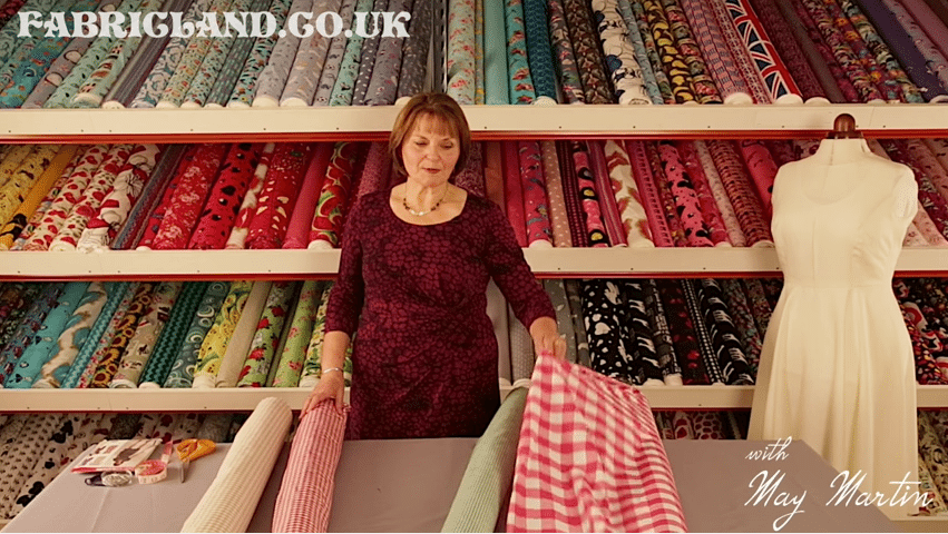May Martin Gingham Fabric