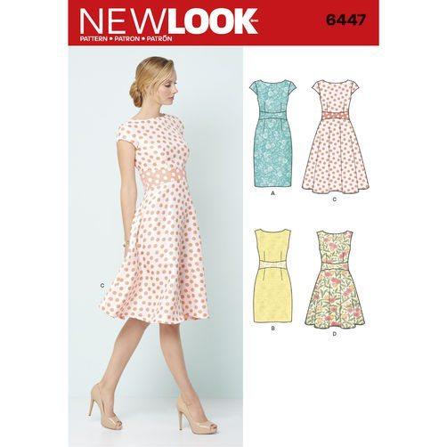 New Look Pattern 6447
