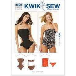Kwik Sew Sewing Pattern 3608