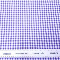 6mm Purple Gingham