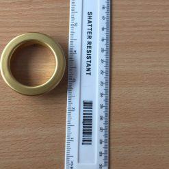 Eyelet Curtain Ring Gold