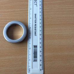 Eyelet Curtain Ring Matt Silver
