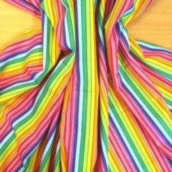 Rainbow Patterned Fabric