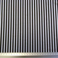 candy stripe blk /wht