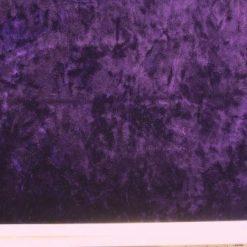 crushed velour lycra purple