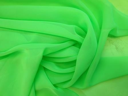 chiffon flo green