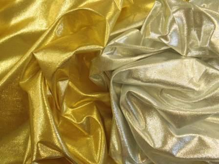 Lame Fabric Light Weight Polyester