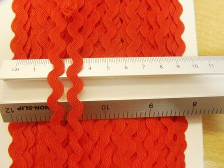 red ric rac small
