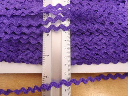small ric rac trimming purple