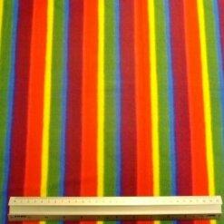 Lycra Patterned Fabric Rainbow