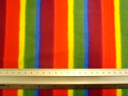 Lycra Patterned Fabric Roly Rainbow
